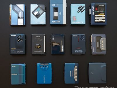 Walkman blue series 01