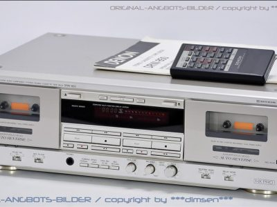 天龙 DENON DRW-850 高级双卡座