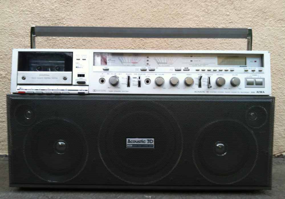 Aiwa CS-J88 before and after