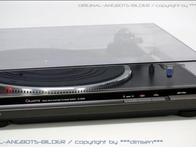松下 Technics SL-QD33 直驱黑胶唱机