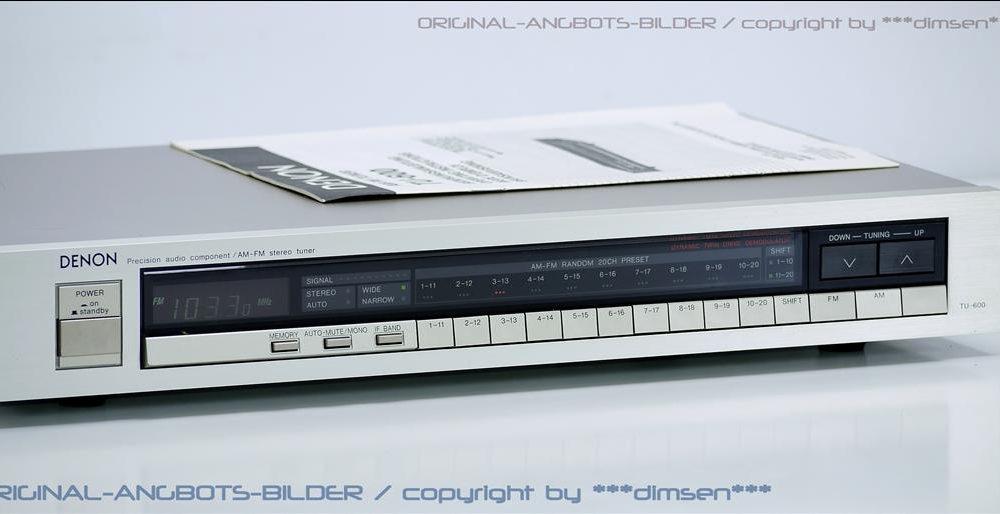 天龙 DENON TU-600 AM-FM 收音头