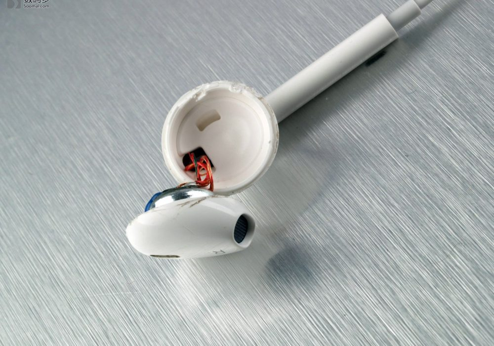 Apple 苹果 EarPods耳机-打开壳体