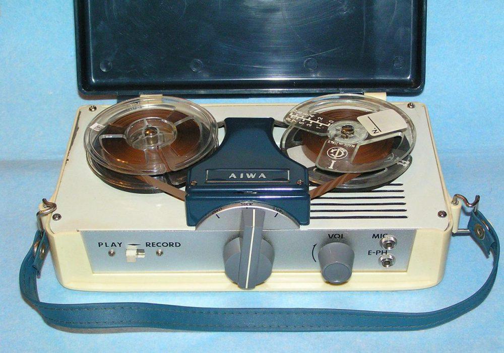 爱华 AIWA TP-30 便携开盘机
