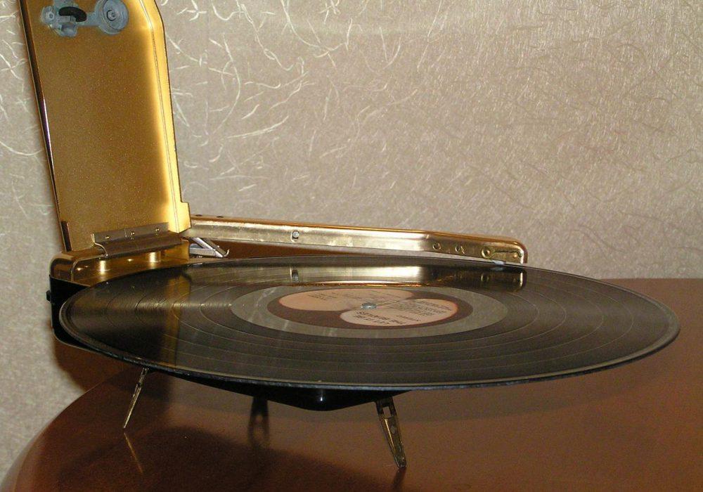 Emerson Wondergram 便携式黑胶唱机 电唱机
