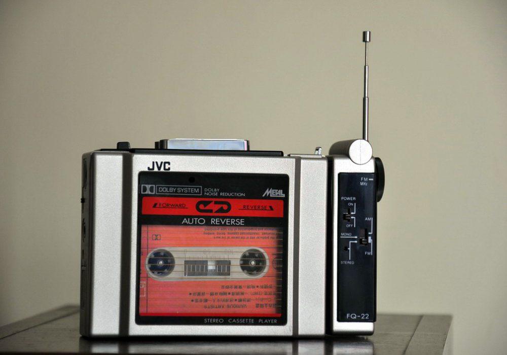 JVC CQ-22K 磁带随身听