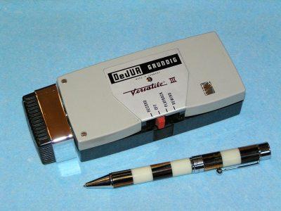 根德 GRUNDIG DeJUR Versatile III 微型磁带录音机