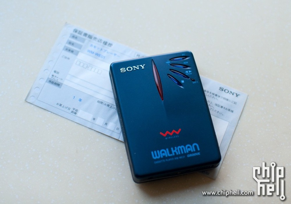 索尼 SONY WM-WE01 WALKMAN 磁带随身听