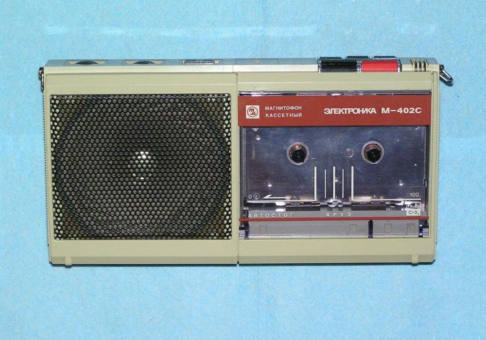 Electronica M-402S 录音机