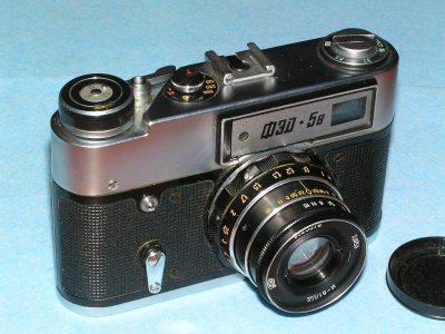 FED-5v 胶片相机