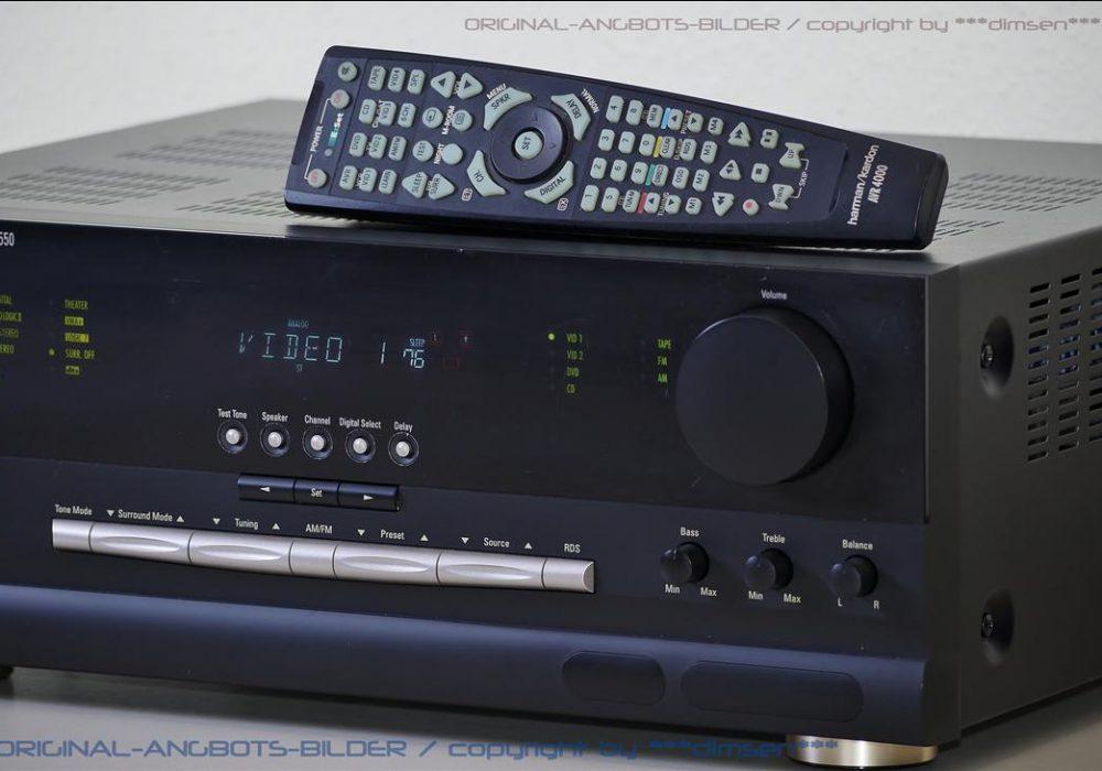 哈曼卡顿 Harman Kardon AVR2550 AV功率放大器