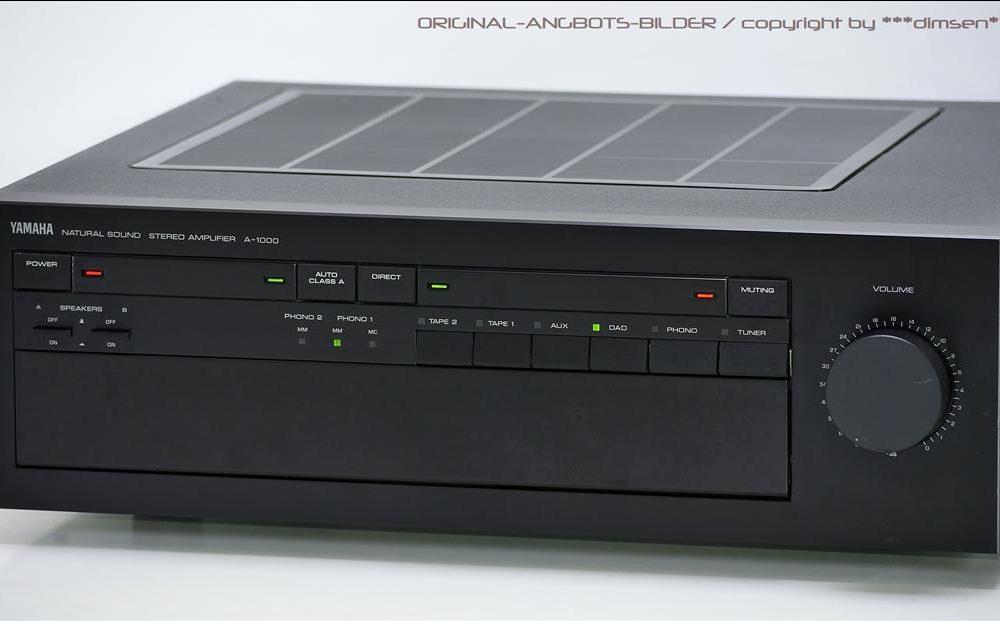 雅马哈 YAMAHA A-1000 高级功率放大器