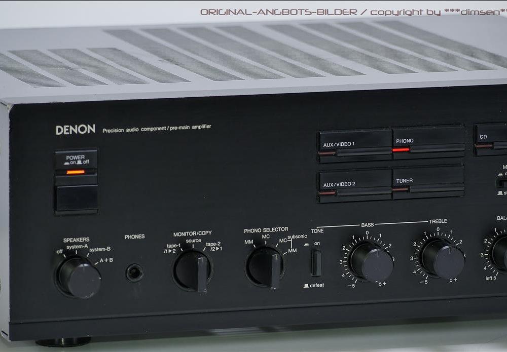 天龙 DENON PMA-700V 功率放大器