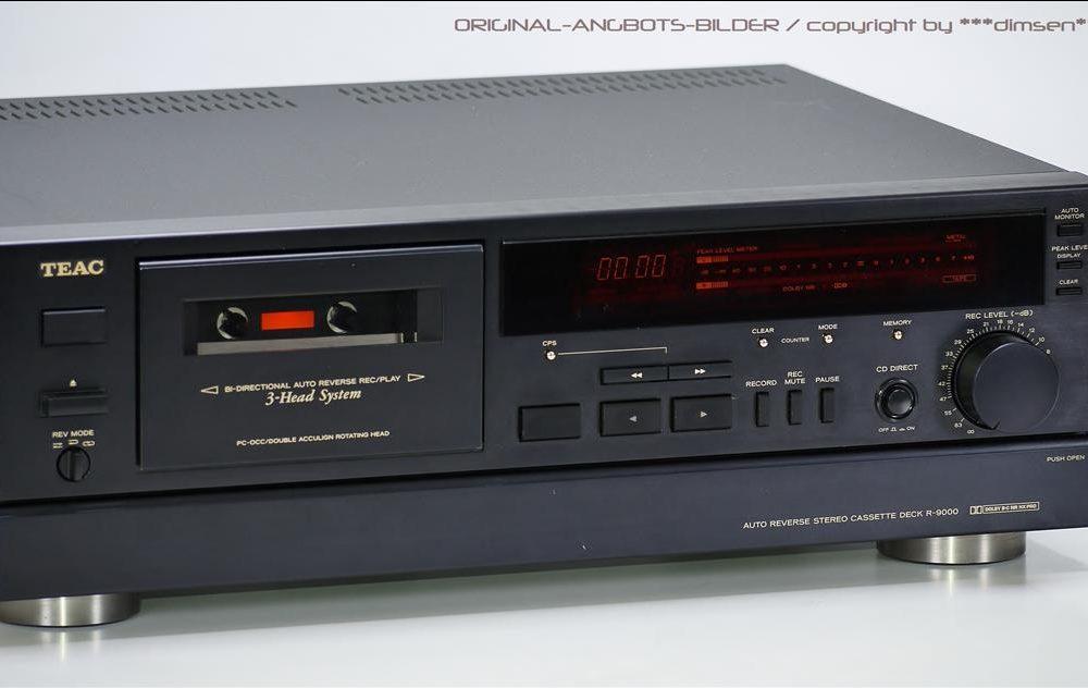 TEAC R-9000 三磁头卡座