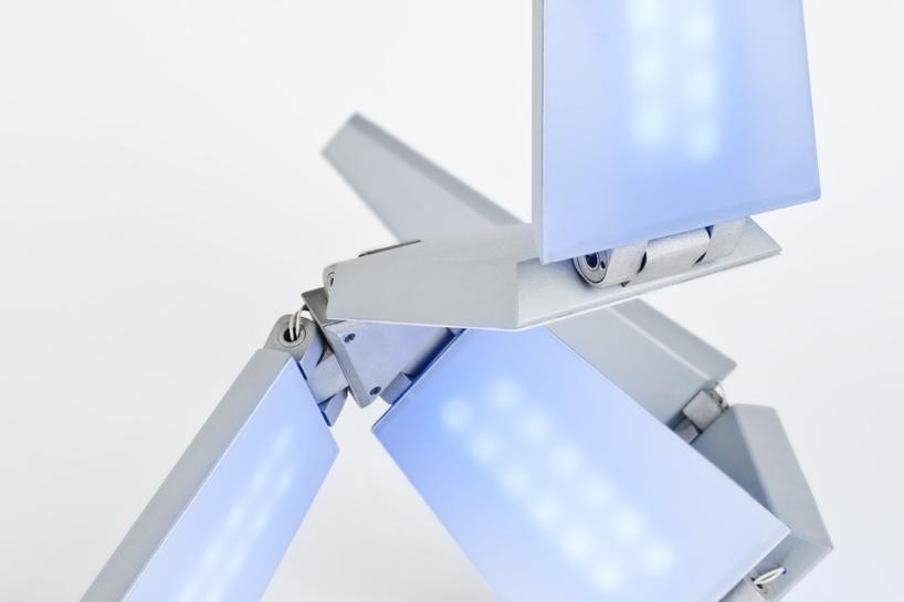 lenka czereova: 变形太阳能灯