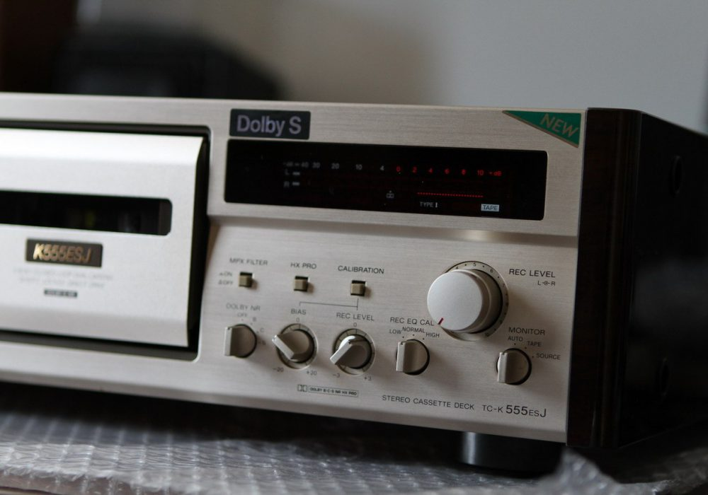 索尼 SONY TC-555ESJ 三磁头卡座