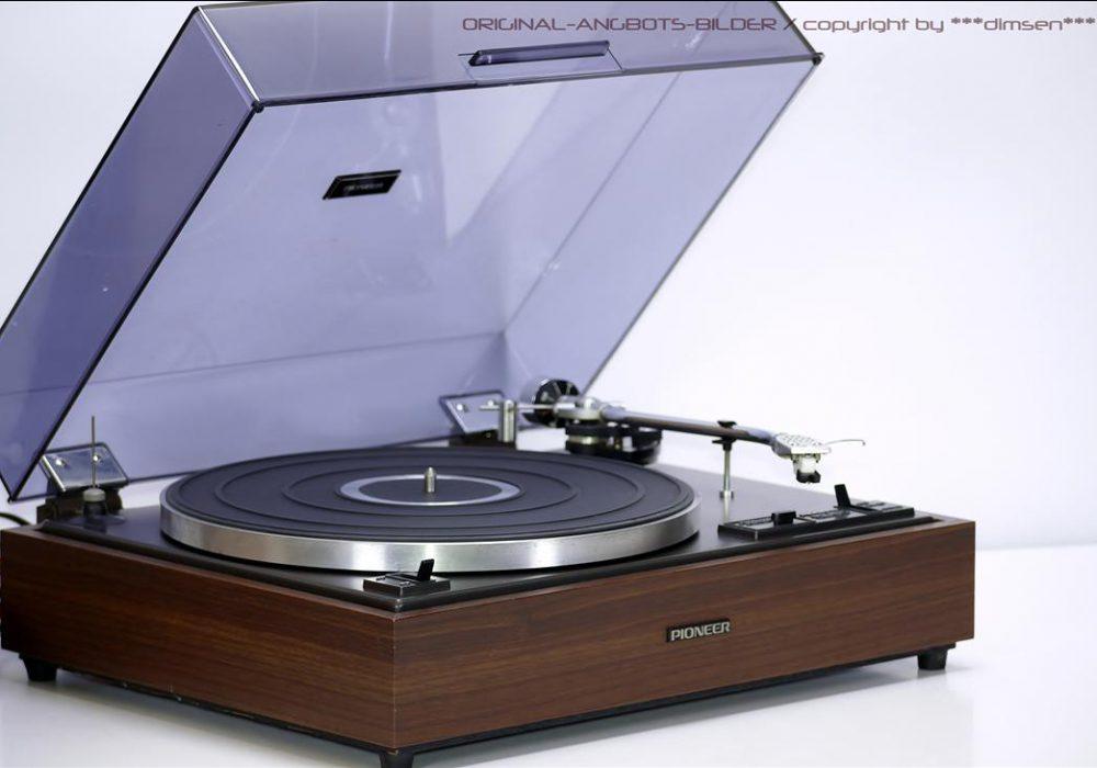 先锋 PIONEER PL-12D 黑胶唱机