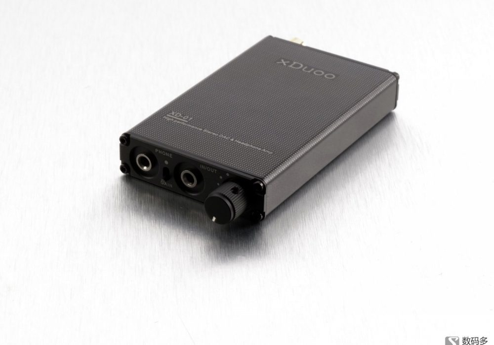 xDuoo 乂度 XD-01 便携式耳机放大器