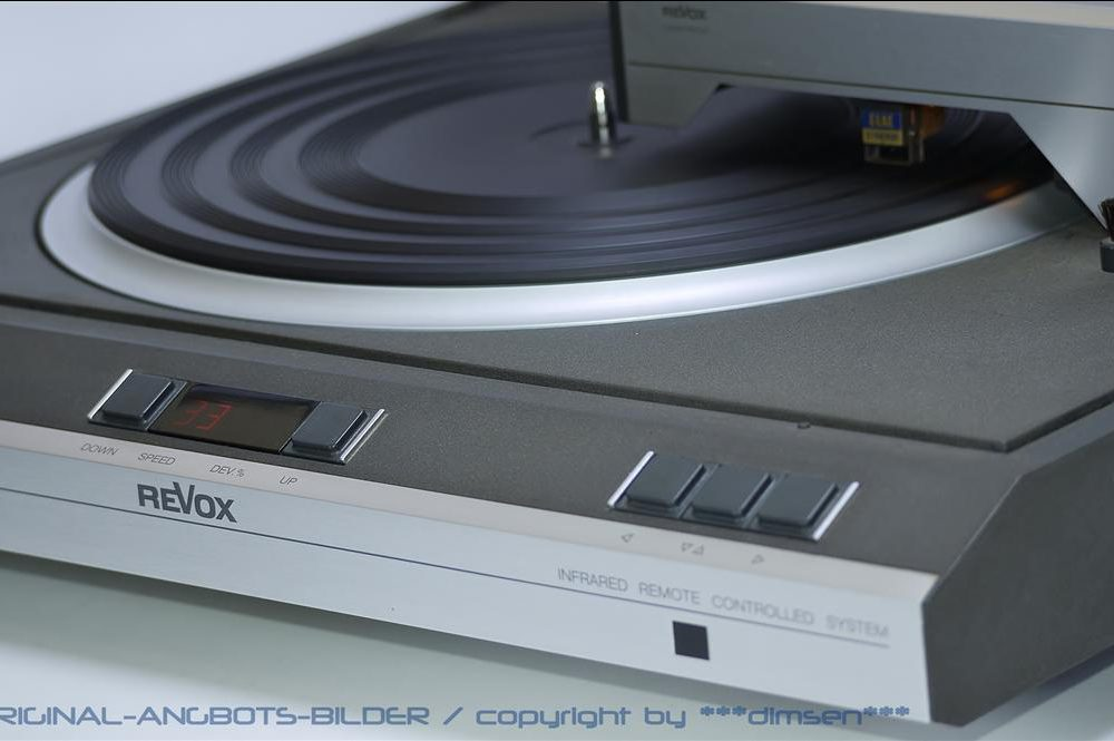 REVOX B291 直切臂高级黑胶唱机