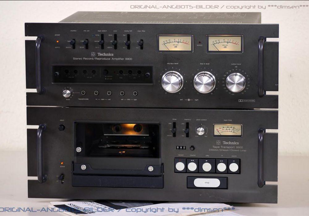 松下 Technics RS-9900 卡座+功放 音响组合
