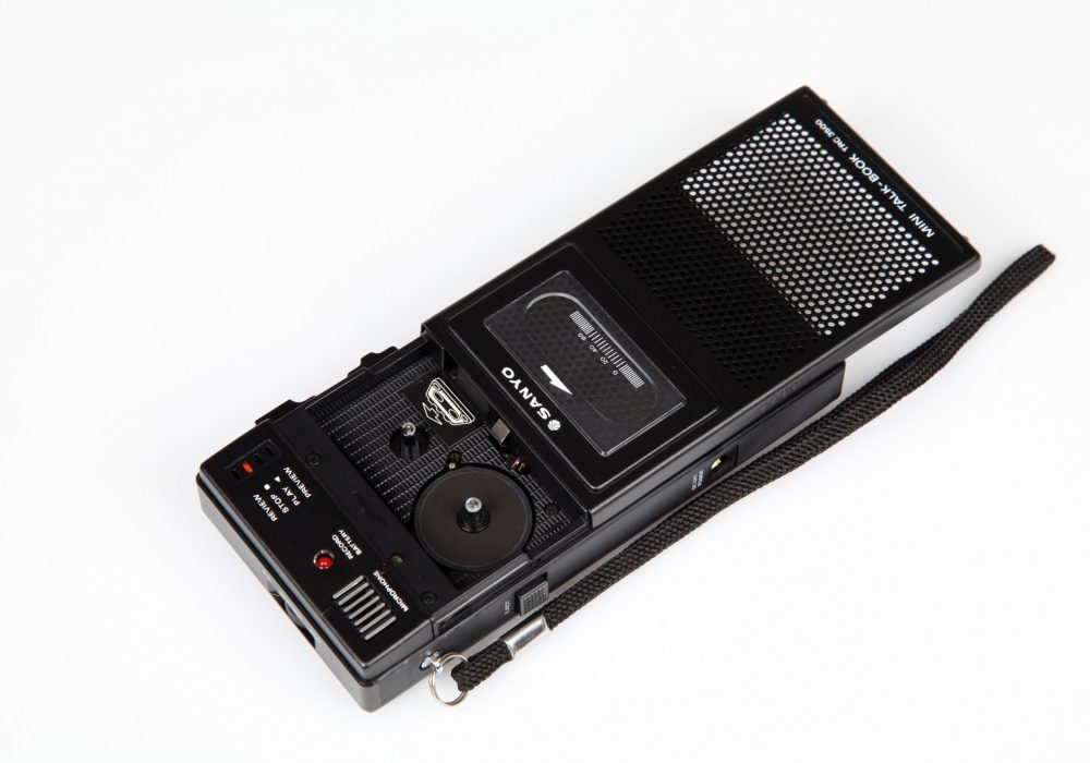 Sanyo Mini Talk Book TRC-3500 Cassette Compartment
