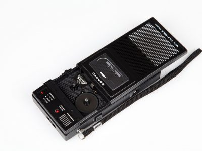 Sanyo Mini Talk Book TRC-3500 Cassette Compartment