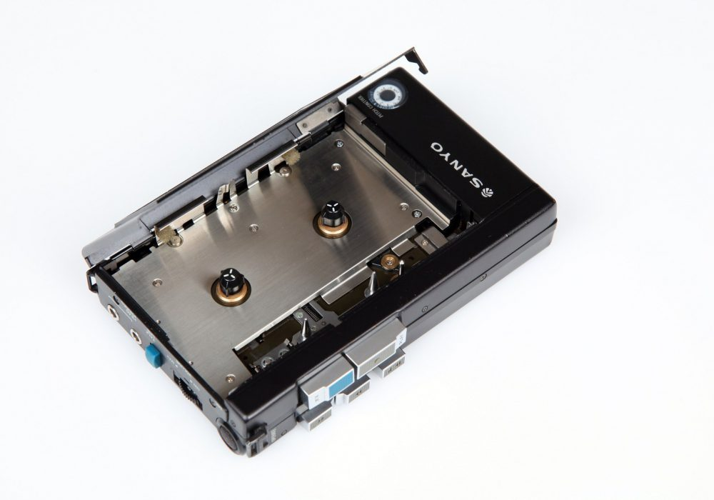 Sanyo Portable Cassette Player M-5550 Cassette Compartment
