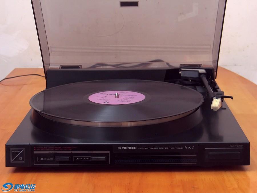 先锋 PIONEER PL-X21Z 黑胶唱机