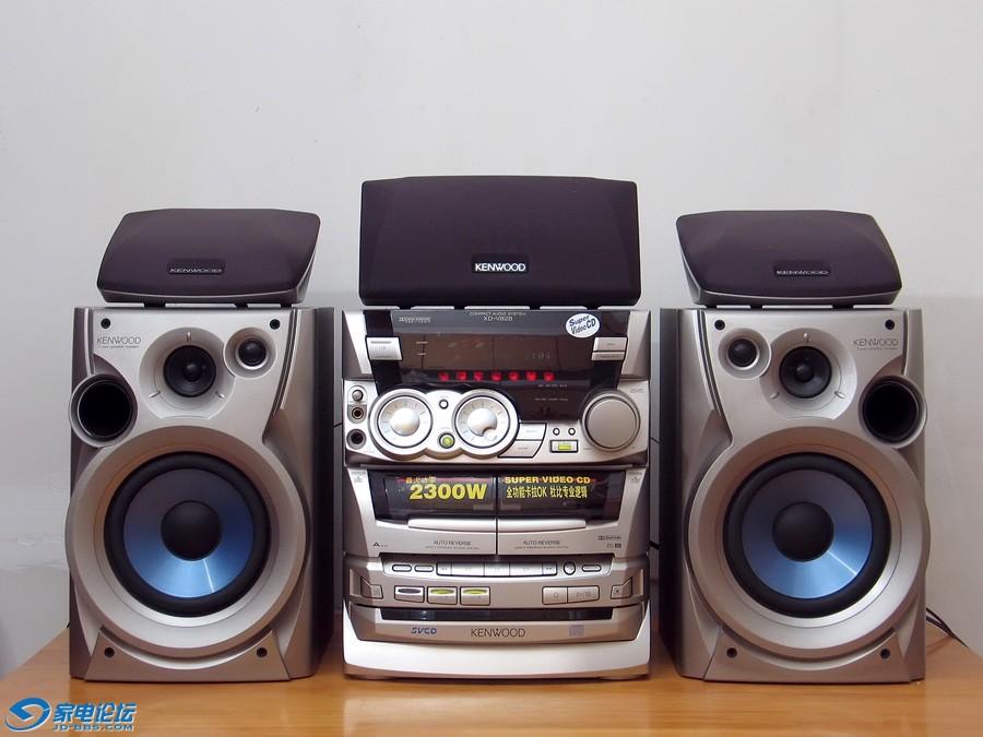 建伍 KENWOOD XD-V828 组合音响, CD机三碟连放