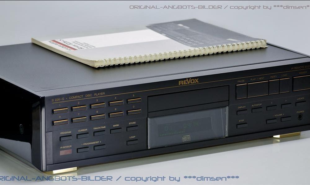 REVOX B226-S 专业CD机