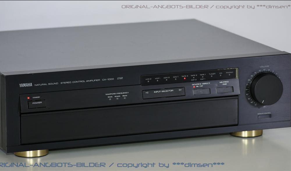 雅马哈 YAMAHA CX-1000 功率放大器