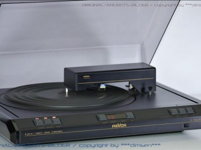 REVOX B291-S 直驱型黑胶唱机