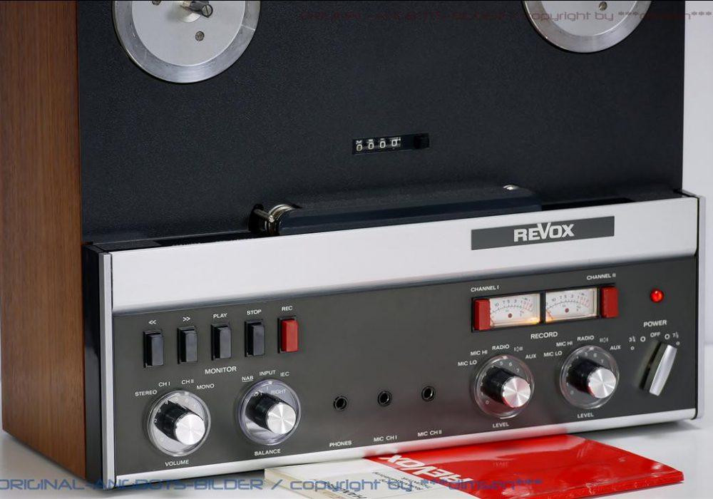 REVOX A77 开盘机