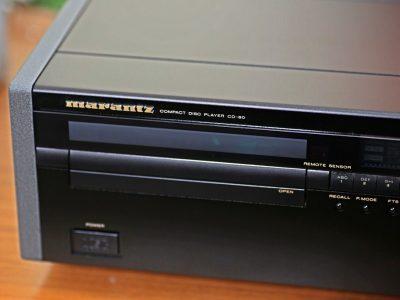 收藏品:欧洲版马兰士CD80带原装遥控说明书(嫁出) – 广安经典音响
