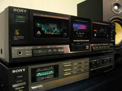 索尼 SONY TC-W230 立体声双卡座