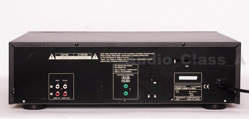 KENWOOD KX-W4080 双卡座