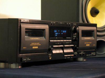 SONY TC-WR645S 双卡座