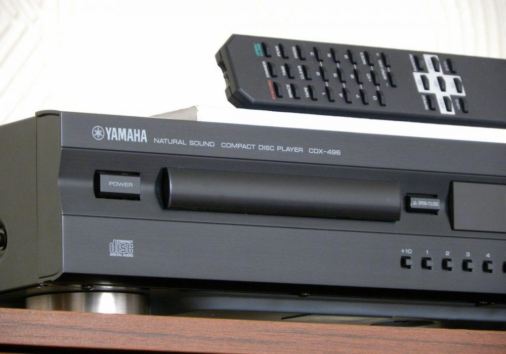 YAMAHA CDX-496 CD播放机