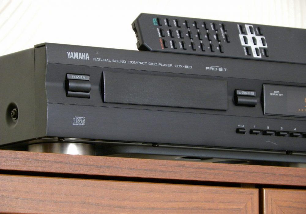 YAMAHA CDX-593 CD播放机
