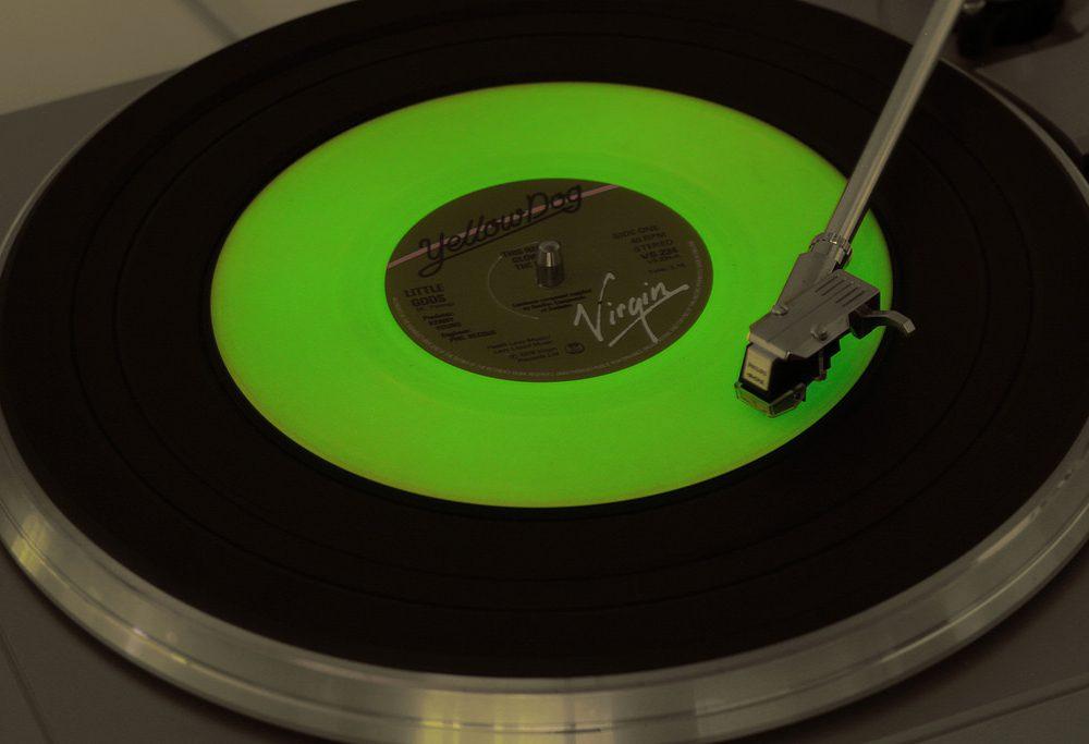 Glow-in-the-dark vinyl