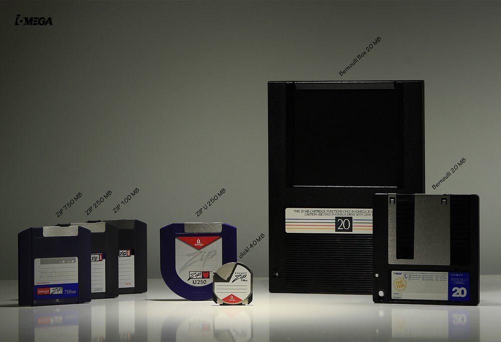 Floppy disks from Iomega