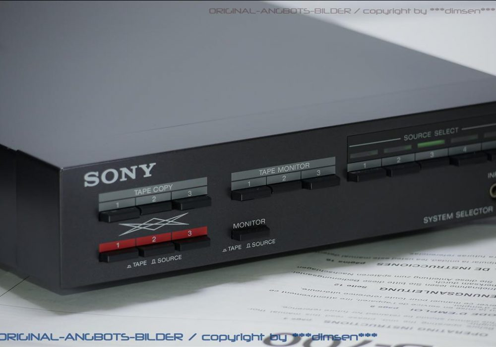 索尼 SONY SB-700 信号分配切换器