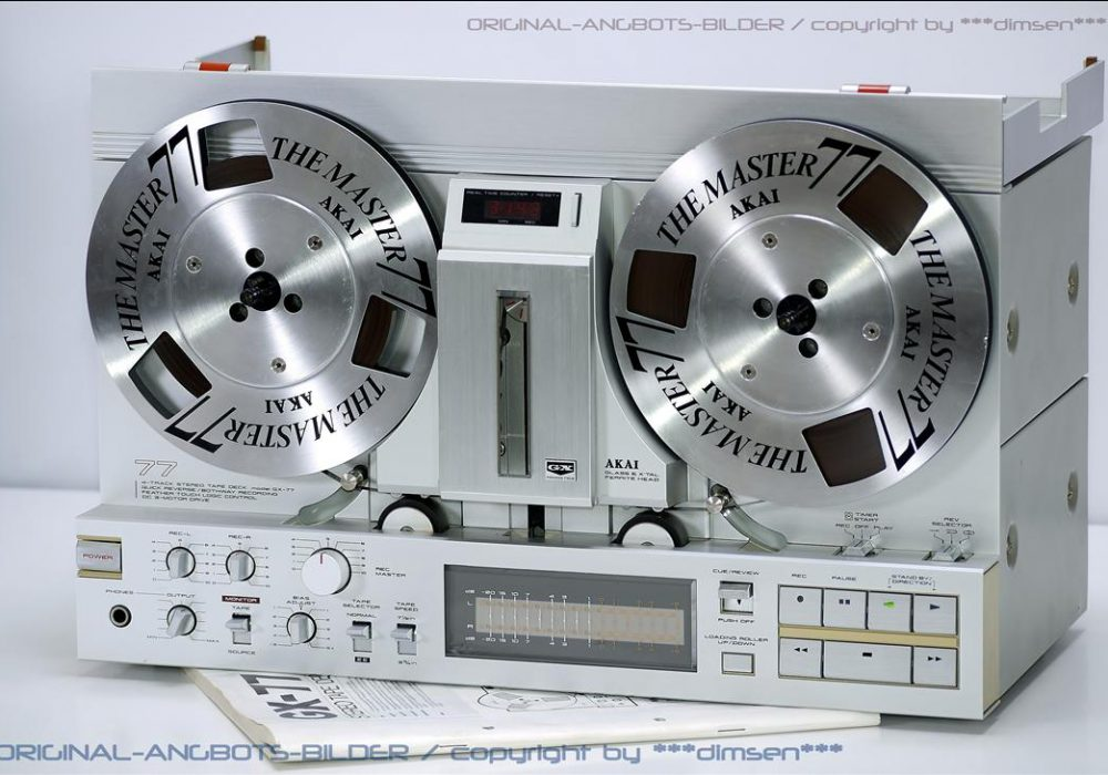 极品 雅佳 AKAI GX-77 开盘机