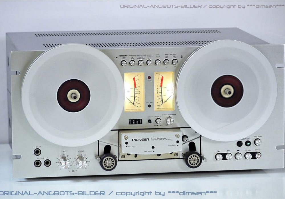 先锋 PIONEER RT-707 开盘机