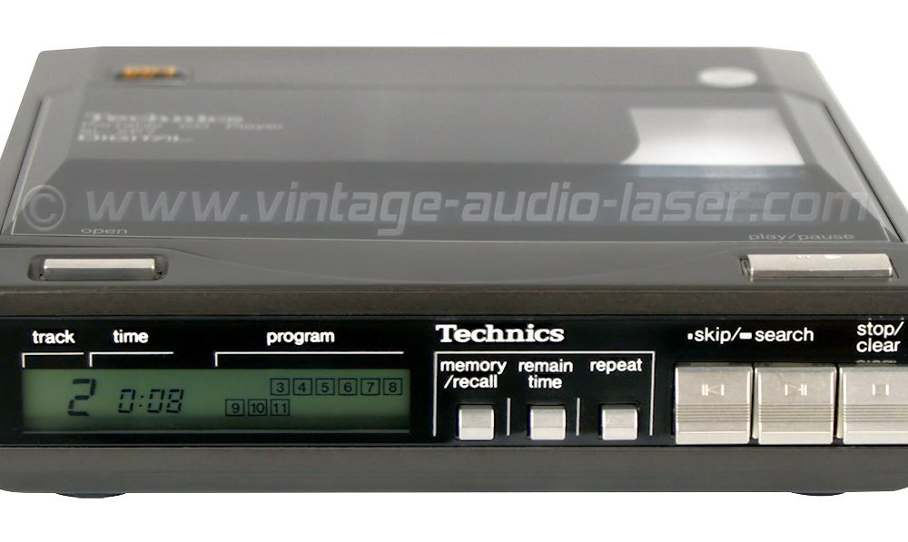 Technics SL-XP7 CD随身听