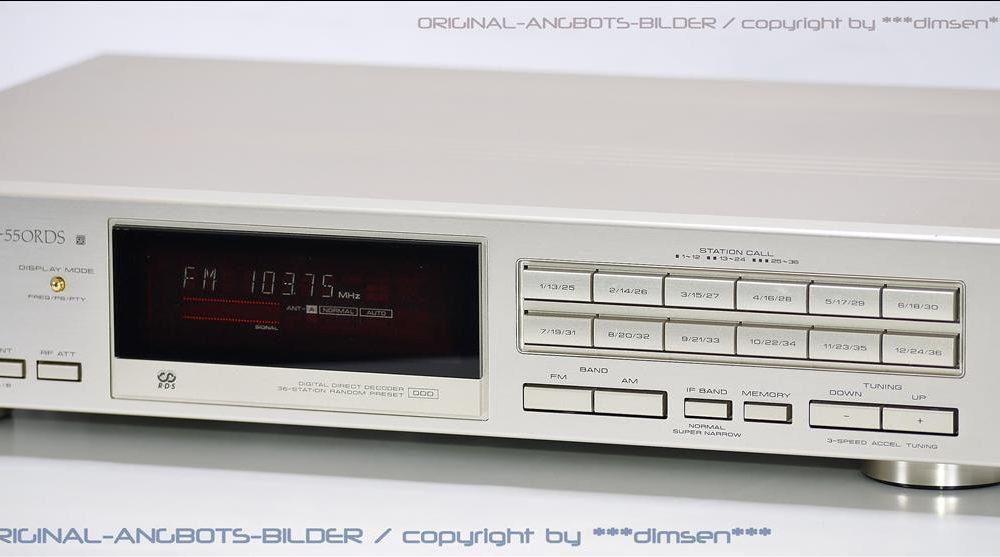 先锋 PIONEER F-550RDS FM/AM 高级数字调谐 收音头
