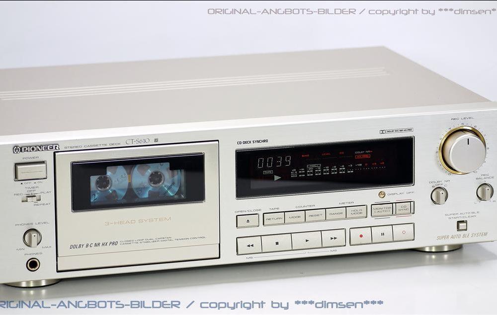 先锋 Pioneer CT-S610 三磁头卡座