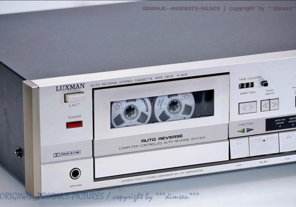 力士 LUXMAN K-405 自动返带 立体声电控卡座