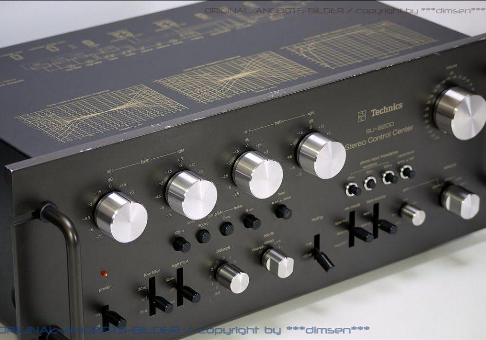 松下 Technics SU-9200 合并式功率放大器