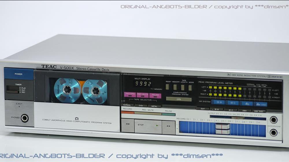 TEAC V-500X 立体声卡座