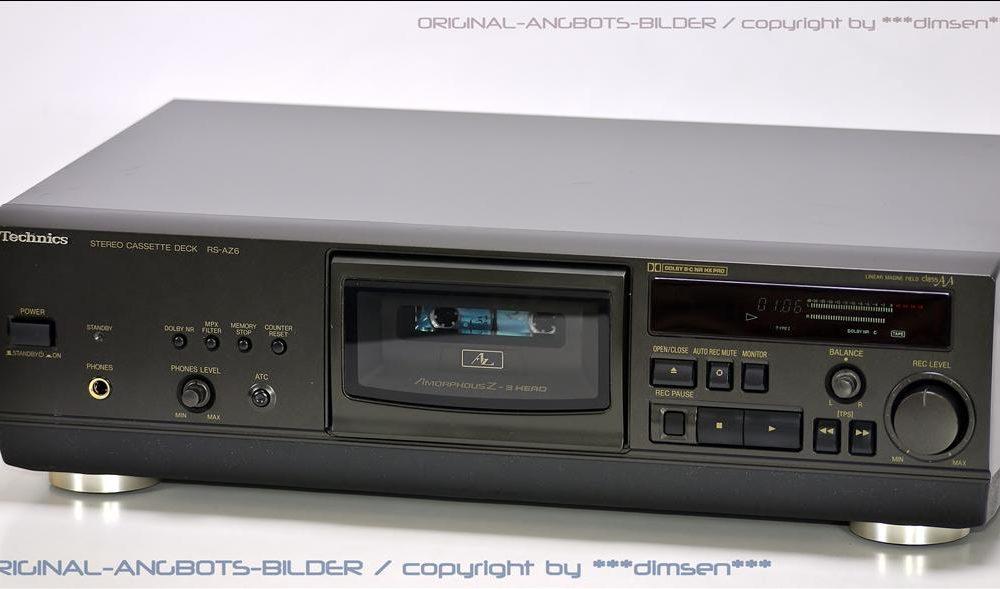 松下 Technics RS-AZ6 中置式立体声卡座